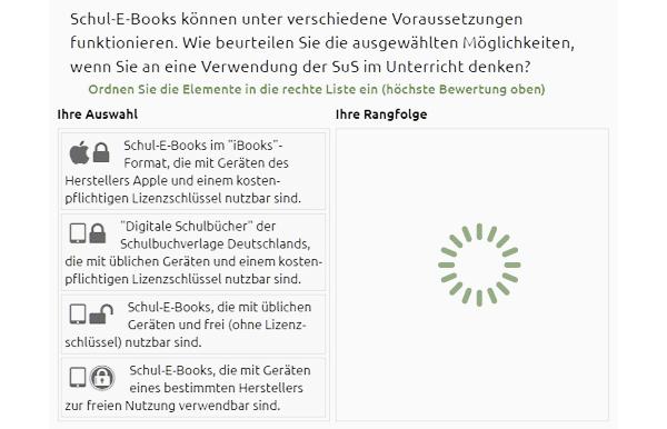 DCE-Befragung 'Mitlernendes Schulbuch'